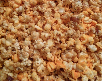 BACON CARAMEL & CHEDDAR Cheese Corn Mix Popcorn!!! (1 lb)