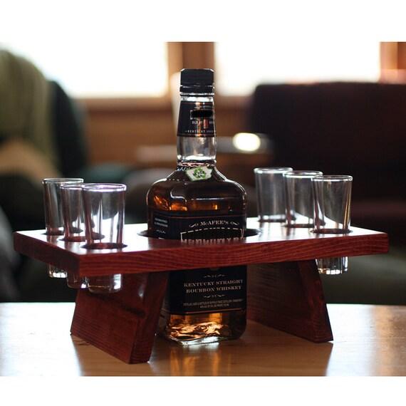 Wood Whisky Bottle Holder Ideas: Unavailable Listing On Etsy