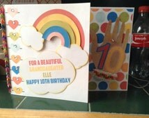 Rainbow Loom Band Birthday Card