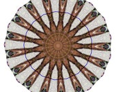 Kaleidoscope 1 - A abstract digital photo manipulated into a kaleidoscopic patters.