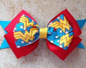 Wonder Woman Superhero Bow