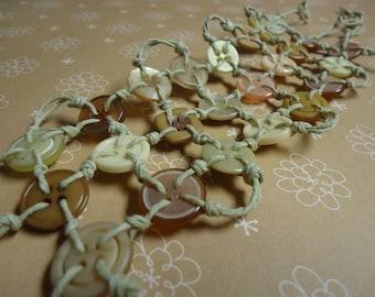 SALE Blush Button Bracelet