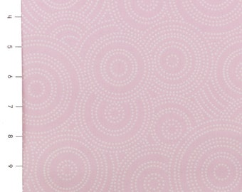 Max & Bunny Dotted Swirls Pink by Andover (sold by the 1/4 yard)