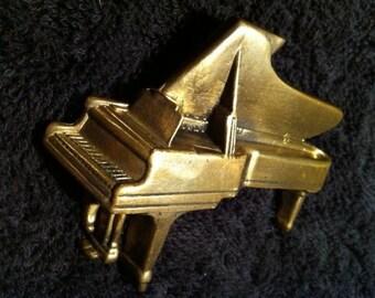 Piano Belt Buckle Brass
