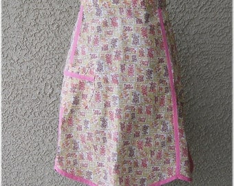 PINK APRON with  Size 12