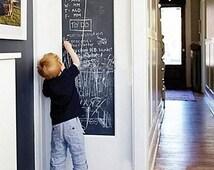 Chalkboard Wall Decal, Rectangle Blackboard Decal, Wall Chalkboard, Black Board Wall Sticker,