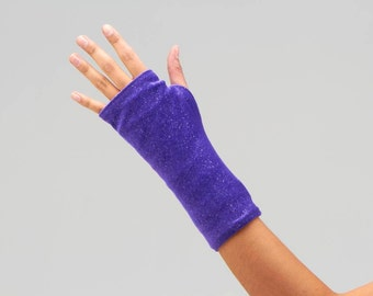 "Short Arm Cast Cover in ""Purple Shimmer"""