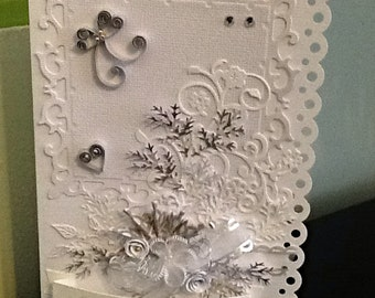 SPECIAL OCCASION greeting cards, handmade with custom quilling