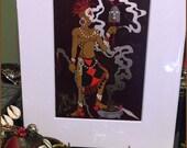 Eleggua Color Print (2013)