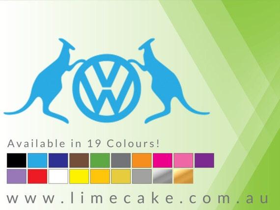 Logo vw y canguros australiano coche casa garaje for Logos de garajes