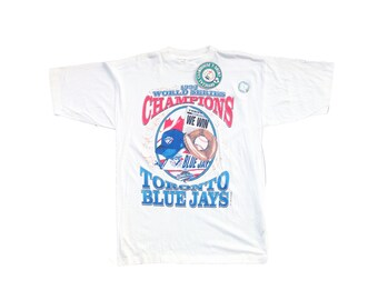 1993 Toronto Blue Jays World Series Champions Deadstock Starter T-Shirt