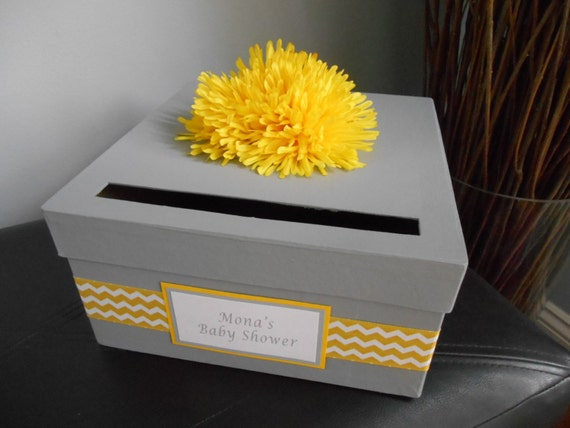 similar to baby shower custom card box baptism christening baby shower