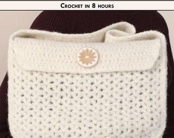 FELTED FABULOUS Crochet Handbag Pattern [Digital File Download]
