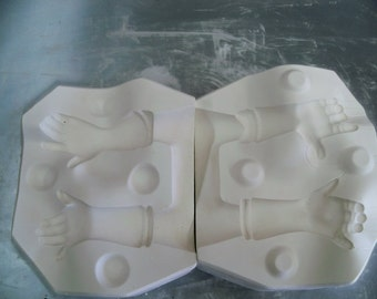 Bell Doll Mold Arms MD2805
