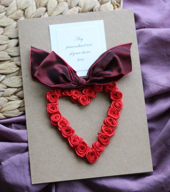 Items Similar To Personalised Handmade Birthday Card