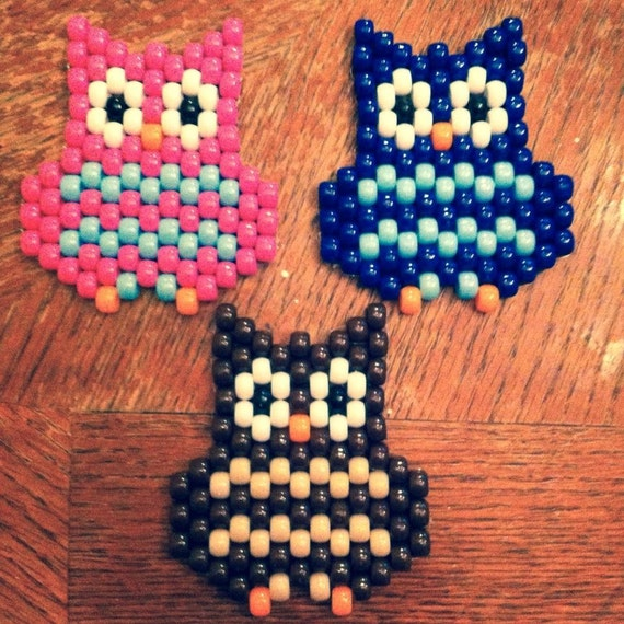 items similar to owl made out of pony on etsy