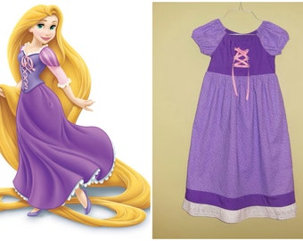 Custom Handmade Rapunzel Inspired Dress