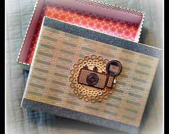 COOL, VINTAGE CAMERA, Handmade Gift Box!