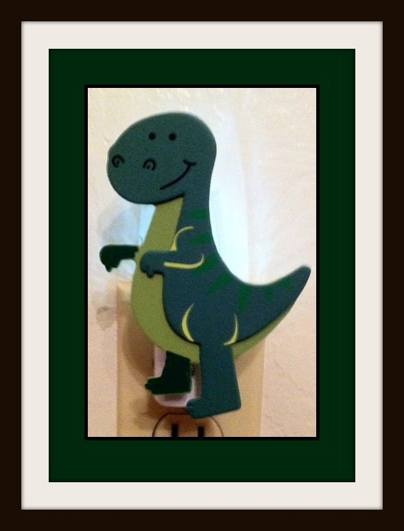 Dinosaur Night Light Boy 39 S Room Decor By Prettyadorablethings