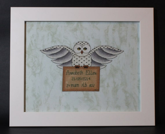Harry Potter Themed Hedwig S Delivery Cross Stitch Baby