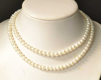 "54"" Freshwater Pearl Necklace"