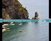 5 x 7 Calendar2014, Italy Calendar, desk calendar, travel photo calendar, travel photography, Italy photography, fine art