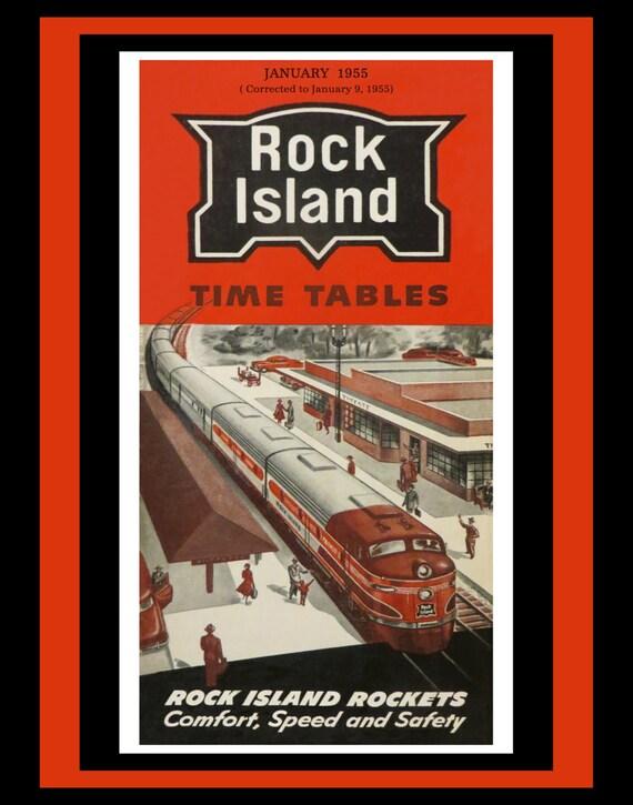 Rock Island Train Schedule