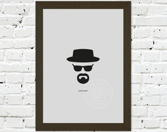 0044 Breaking Bad #Heisenberg A3 Wall Art Print Multiple Sizes