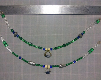 PENNSIC SALE Norse/ Viking womans bead strand for apron dress