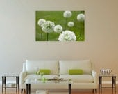 green wall art, green gallery wrap, large green wall art, large modern wall art, green modern wall art