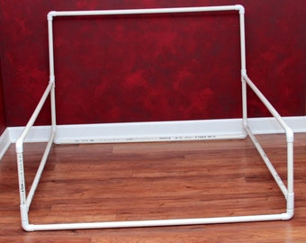 Newborn Photography Background Stand.  To fit over large beanbag poser.