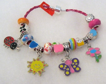 319 - CLEARANCE - Summers Here! Charm Bracelet