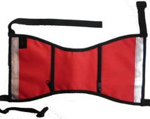 Service dog vest-Large-Comes in red, blue, dark green and orange.