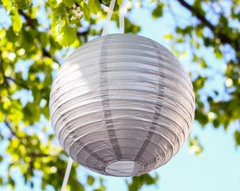 Round Hanging Paper Lantern Indoor Outdoor Decor