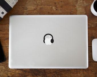 Headphones MacBook Decal