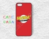 Bazinga iphone 5s case iphone 5 case Big Bang Theory, Sheldon Cooper iphone 4s case iphone 5c case iphone 4 case iPhone case -117