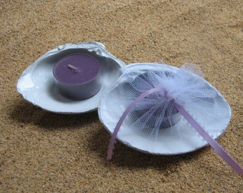 Beach Wedding Favors, Shell Favor