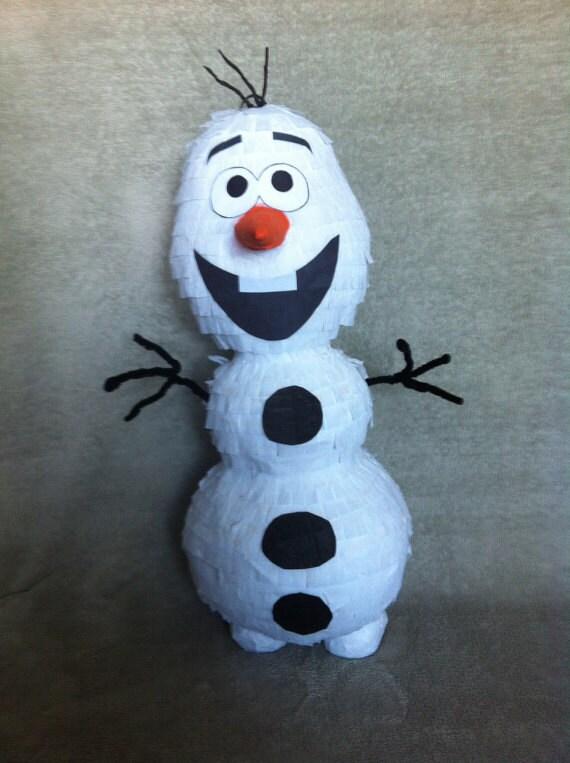 Pinata bonhomme de neige - Bonhomme de neige olaf ...
