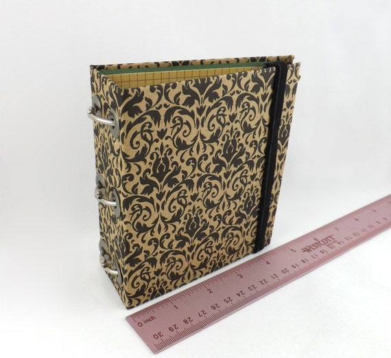 Mini 3 Ring Binder Tiny Small 1 One Inch Rings With By