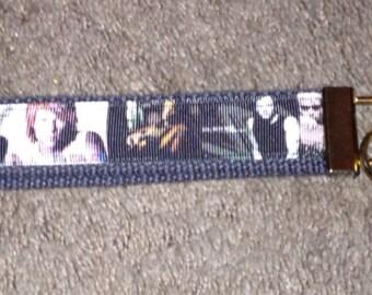Bon Jovi wristlet key fob holder key chain