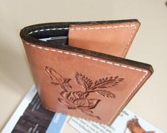 Beautiful tooled buisness card holder
