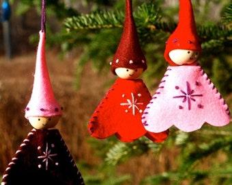Craft Kit - Snowflake Pixies