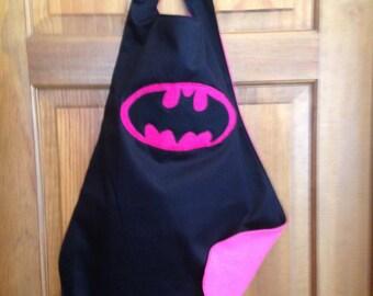 BATGIRL Kids Superhero Cape/Costume