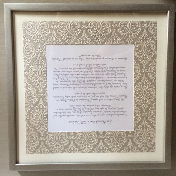 framed pittsburgh wedding cookie table story silver damask