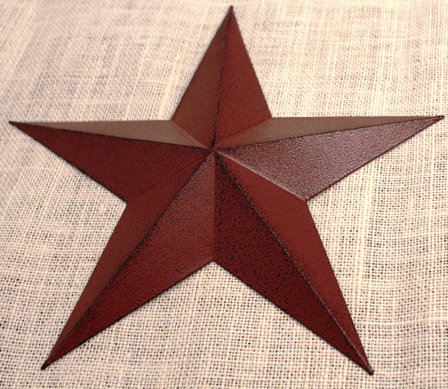 11 large metal tin barn star wall decor ship june - Stars for walls decorating ...