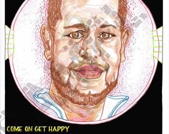 190-On Get HAPPY-Friend series-Rob Vassilarakis-Aug. 28, 2013