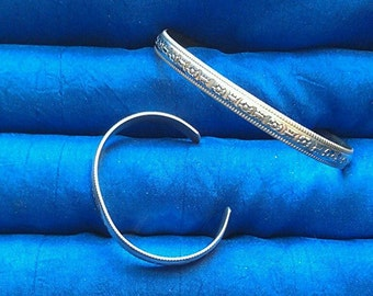 Mother daughter / baby bracelet set Sterling Silver