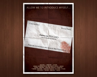 American Psycho Poster (Multiple Sizes)