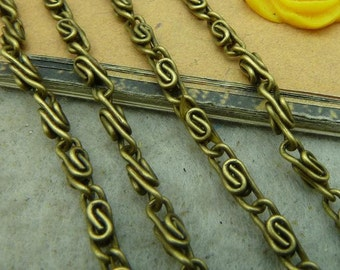 5 meters 2.5x3mm chains, Antique bronze chain necklaces Jewelry finding wholesale E1014