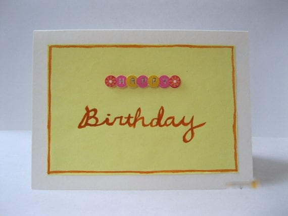 Send a fun, bright, and sunny birthday card to someone special